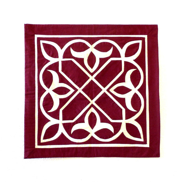Arabesque IV | Applique Art Wall Hanging Handstitched Egyptian Khayamiya - Arkan Gallery  - 1