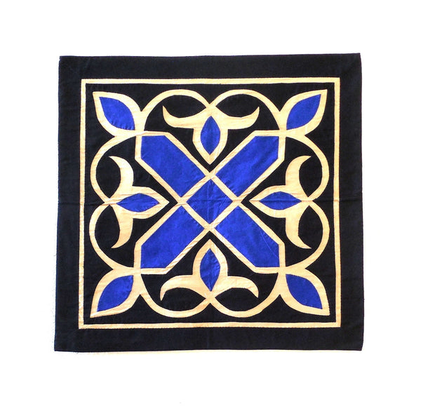 Arabesque V | Applique Art Wall Hanging Handstitched Egyptian Khayamiya - Arkan Gallery  - 1