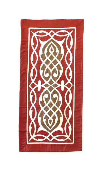 Arabesque VII | Applique Art Wall Hanging Handstitched Egyptian Khayamiya