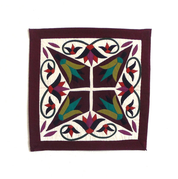 Enchanted Star | Applique Art Wall Hanging Handstitched Egyptian Khayamiya