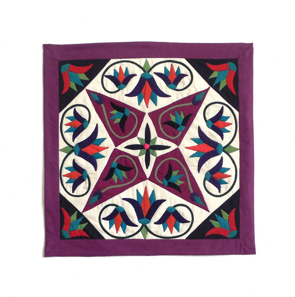 Enchanted Star II | Applique Art Wall Hanging Handstitched Egyptian Khayamiya - Arkan Gallery  - 1