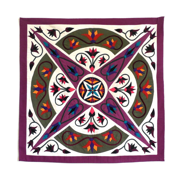 Enchanted Star III | Applique Art Wall Hanging Handstitched Egyptian Khayamiya - Arkan Gallery  - 1