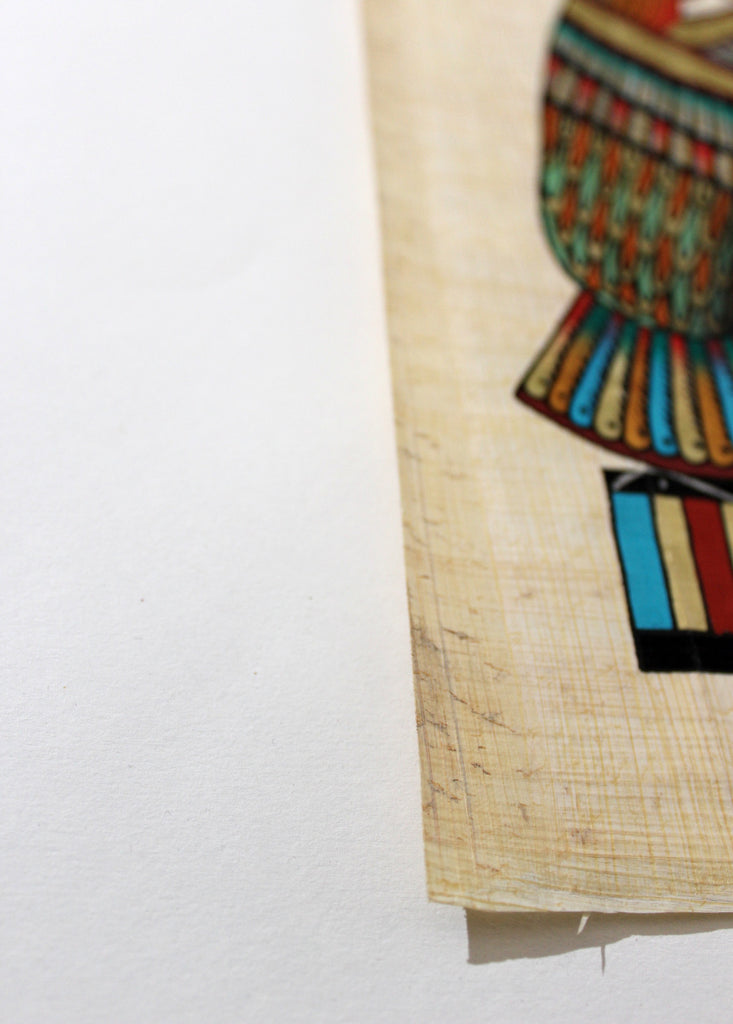 Eye of Ra | Ancient Egyptian Papyrus Painting Paper Arkan Gallery
