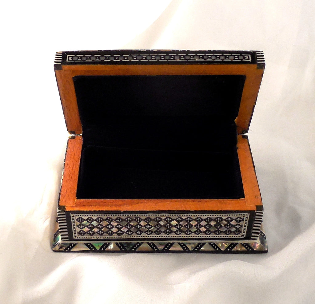 Sensational Granada II Handmade Egyptian Jewelry Box Arkan Gallery