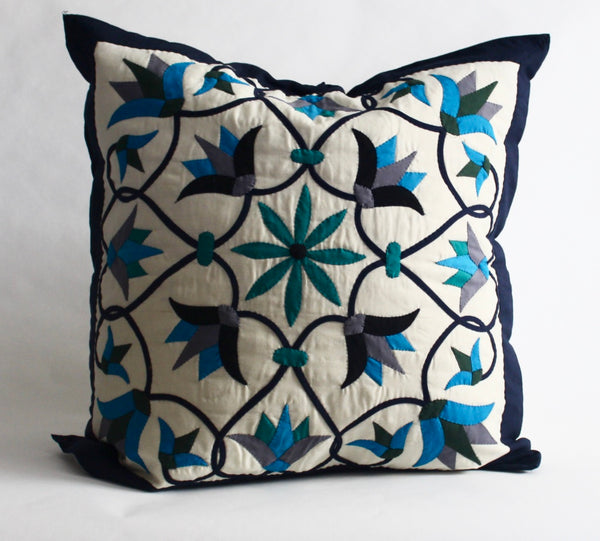 Enchanted Flower | Handmade Pillow
