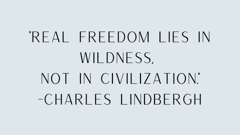 Charles Lindbergh quote