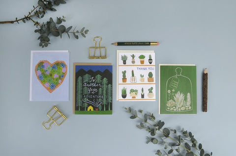 Forage Paper Co stationery products