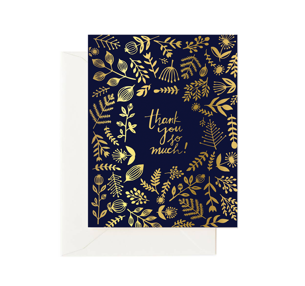 Gold Foil Thank You