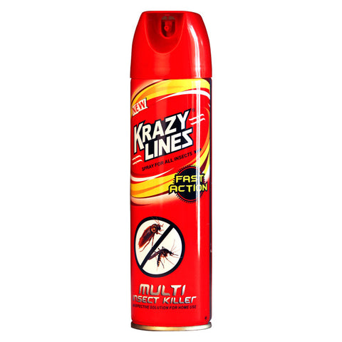 Krazylines Spray (Multi-insect killer spray)