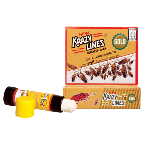 Krazylines Gold (Cockroach & Crawling insect chalk)