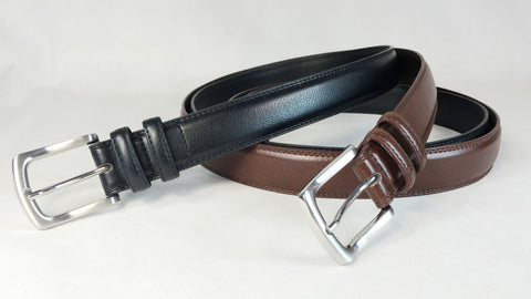 Men's Dress Leather Belt Wholesale LA1186 1 dozen Per PACK