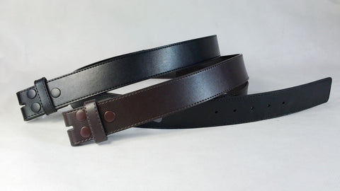 Men's Dress Leather Belt Snap on Belt Strap Wholesale LA2039 1 dozen Per PACK