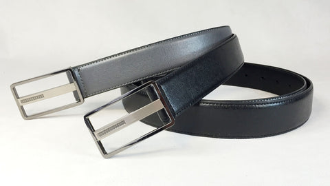 Men's Dress Leather Belt Wholesale LA1181 1 dozen Per PACK