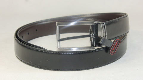 Men's Reversible Leather Belt Wholesale LA1008 1 dozen Per PACK
