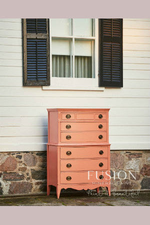 Fusion™ Mineral Paint Coral from the Penny and Co Collection.