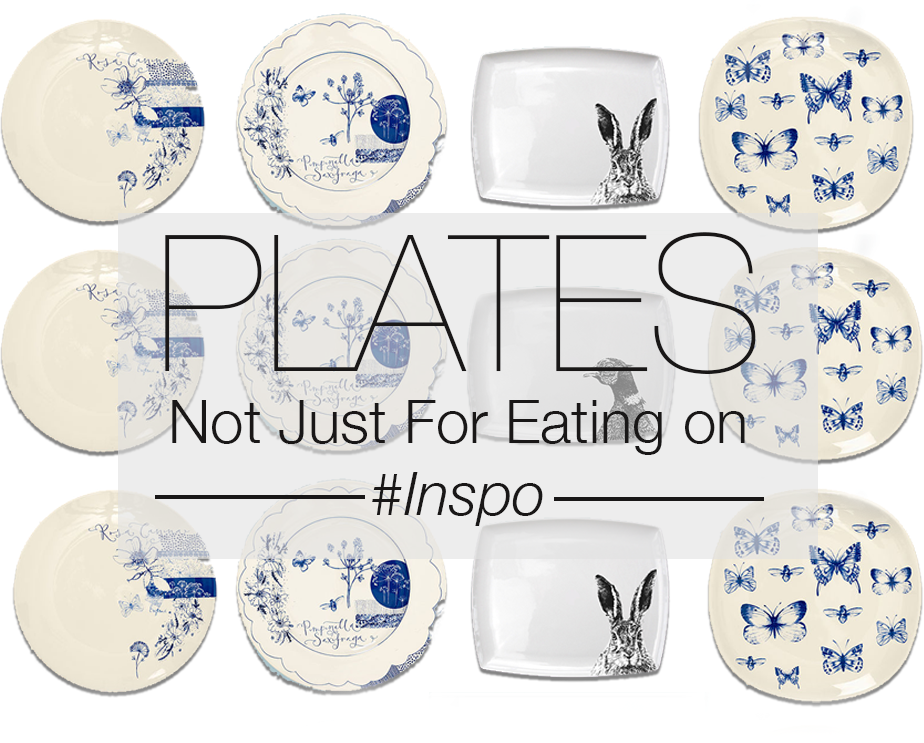 Plates. Not just for Eating on