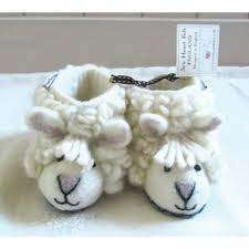 Felt Sheep Slippers Vintage Attic Living Sevenoaks Christmas Gift Guide