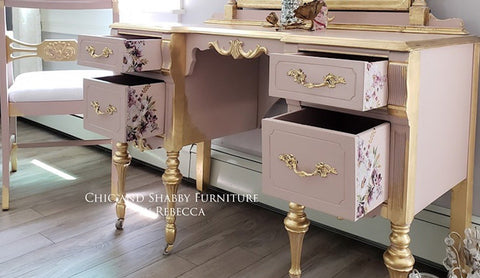 How to Paint Furniture with Dixie Belle Chalk Mineral Paint