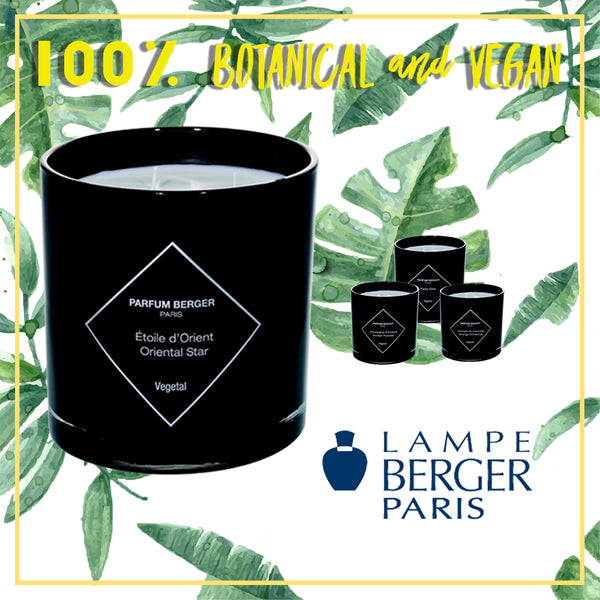 Vegan Candles! By Lampe Berger Paris