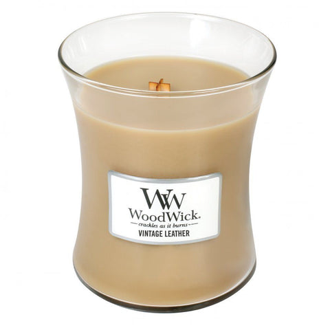 Woodwick Vintage Leather candle Vintage Attic Living Sevenoaks Kent Christmas Gift Guide