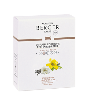 Maison Berger - Car Diffuser Refills - Heavenly Sun - Set of 2 - Car Diffusers