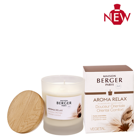 Aroma Relax Oriental comfort candle Lampe Berger