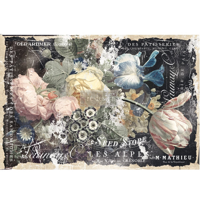 "Decoupage Tissue Paper | Redesign With Prima | BRIDGETTE | 9"" X 30"" 2 x sheets"