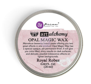 Art Alchemy-Opal Magic Wax-Royal Robes Vintage Attic Sevenoaks UK