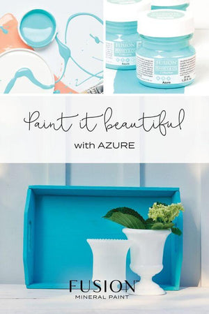 Azure Fusion Mineral PAint available from Vintage Attic Sevenoaks
