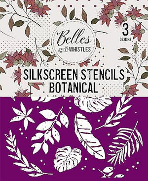 Belle & Whistles by Dixie Belle Paint - Silkscreen Stencils - Botanical available from official online retailer and approved UK Stockist