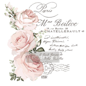 re-design with prima chatellerault decor transfer