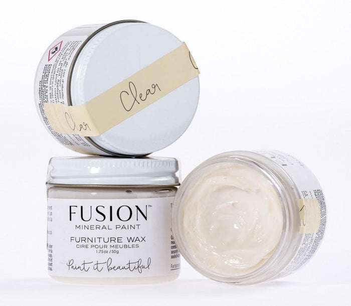 Fusion Mineral Paint Furniture Wax - CLEAR