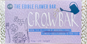 Grow Bar - Edible Flowers