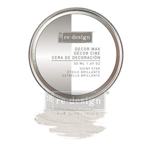 Silver - Shiny Star - Decor Wax Paste