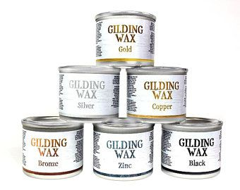 Gilding Wax | Dixie Belle Paint | 40 Ml (1.3 Oz)