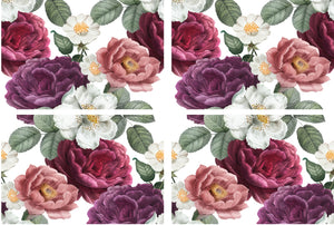 Dixie Belle Paint Decor Transfers, Belle and Whistles Decor Transfers available from approved online retailer and premium UK stockist based in Kent, Floral Romance
