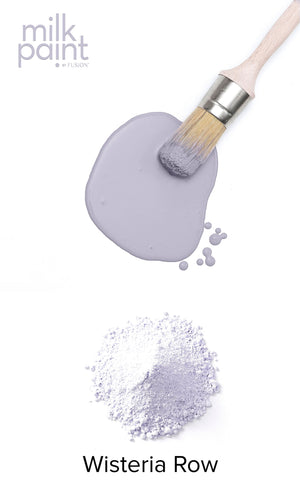 Milk Paint by Fusion Mineral Paint - available from Approved online retailer and official UK stockist - Official Fusion Educator Wisteria Row Purple Lilac