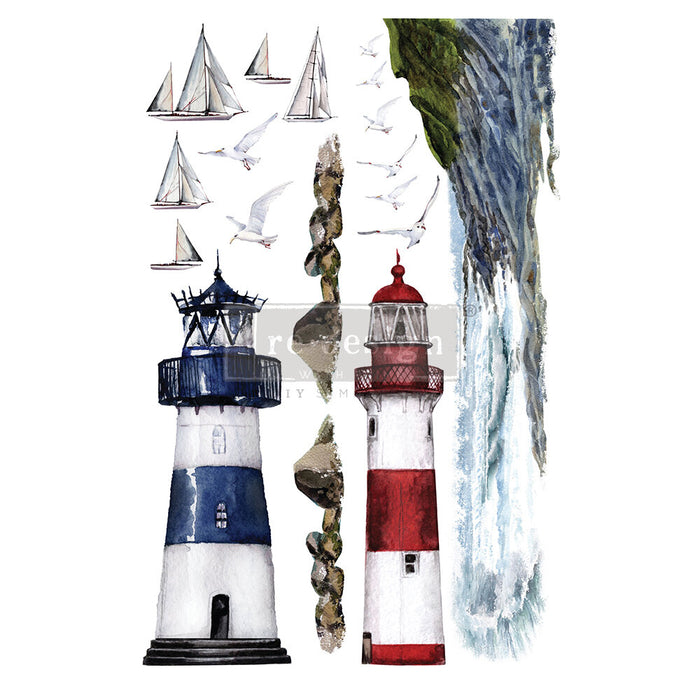 ** **New ** **Re-Design Prima Transfers ** ** Lighthouse ** **