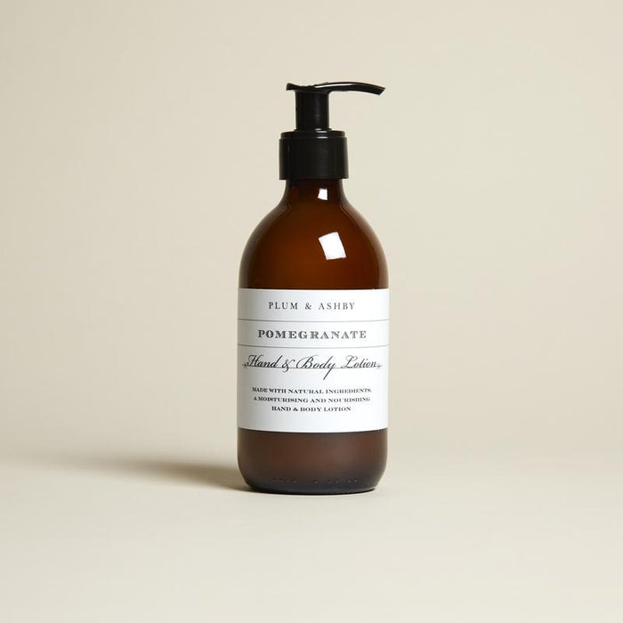 Plum & Ashby - Hand & Body Lotion - Pomegranate