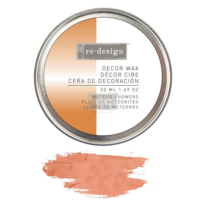 Copper / Meteor Showers- Decor Wax Paste