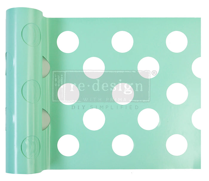 Stick and Style Stencil Roll - Multi Large Dot - Prima Re-Design