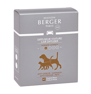 Maison Berger - Animal Anti-Odour Set of 2 Car Diffuser Refills - Car Diffusers
