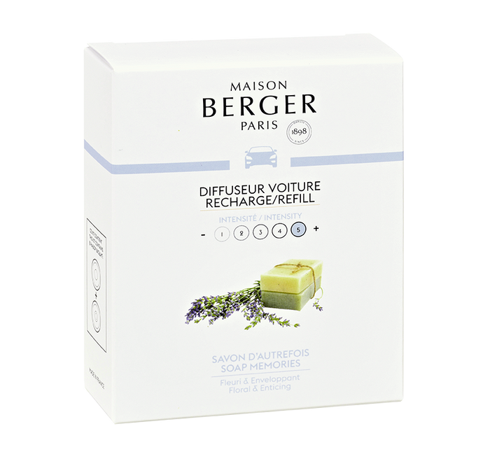 Maison Berger - Soap Memories Set of 2 Car Diffuser Refills - Car Diffusers