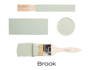 Brook Fusion Mineral Paint UK availalbe from Vintage Attic Sevenoaks approved online retailer