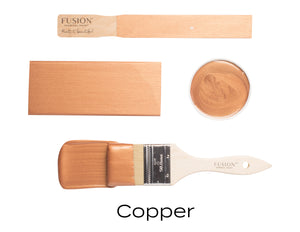 Copper Metallic Fusion Mineral Paint Uk Official Approved online Stockist Vintage Attic Sevenoaks Kent