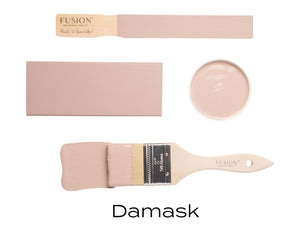 Damask Fusion Mineral Paint UK available from approved online stockist Vintage Attic Sevenoaks