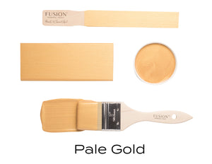 Pale Gold Metallic Fusion Mineral Paint Uk Official Approved online Stockist Vintage Attic Sevenoaks Kent