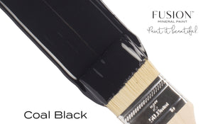 Coal Black Fusion Mineral Paint buy online Vintage Attic Sevenoaks