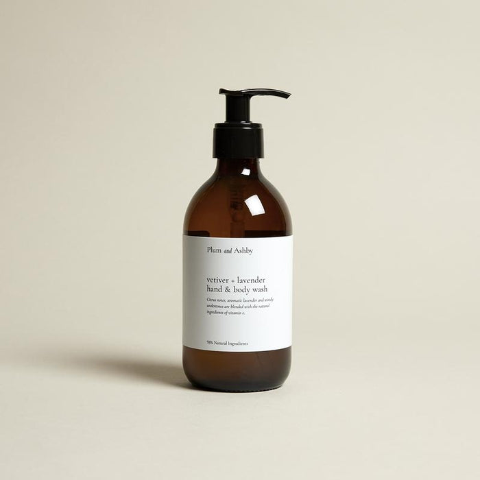 Plum & Ashby - Hand & Body Wash - Vetifer & Lavender