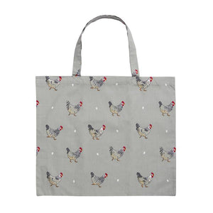 Sophie Allport - Folding Shopping Bag - Chicken
